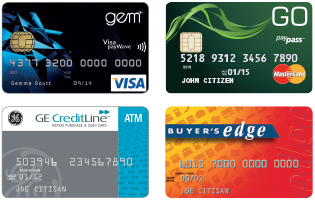 Interest Free Cards: Gem, Go, GE CreditLine, Buyer's Edge